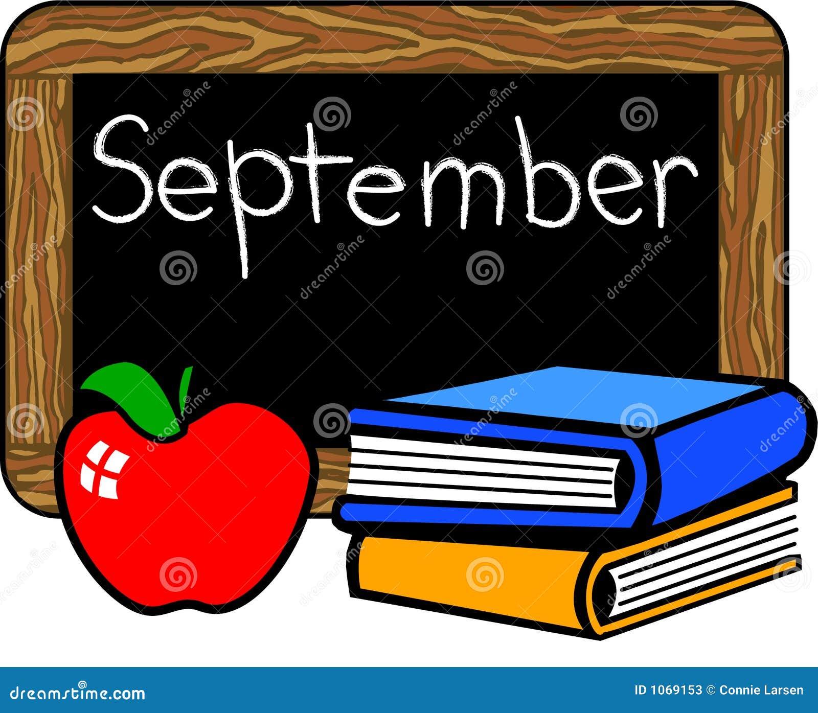 September chalkboard