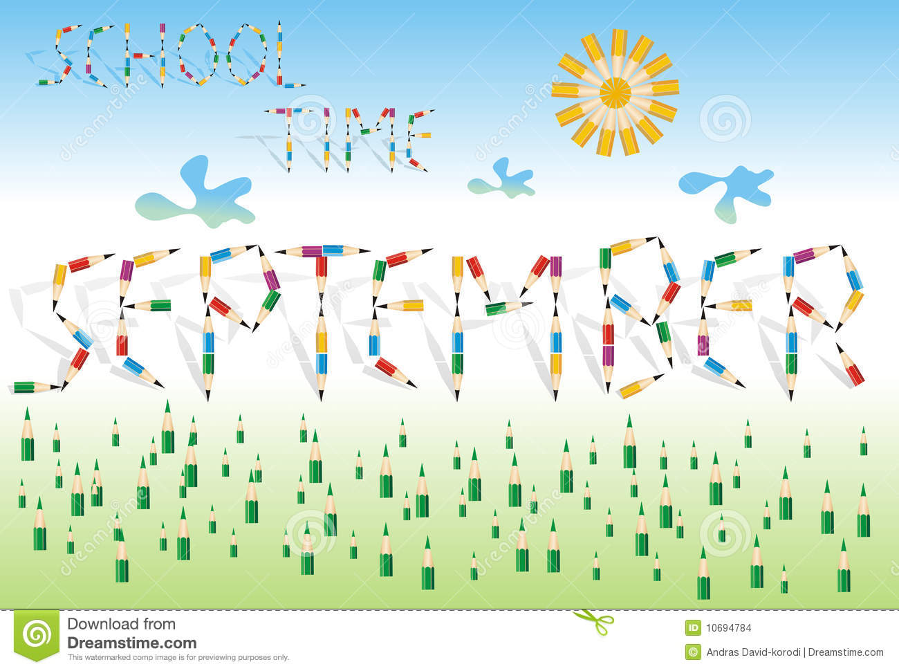 September The School Month Stock Images - Image: 10694784