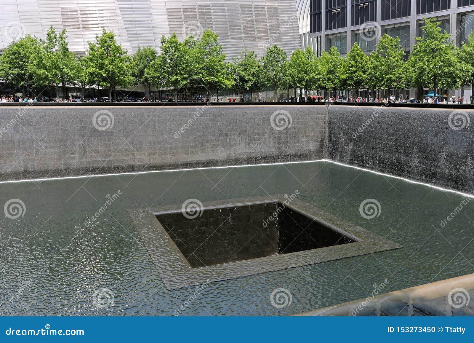 11 septembre commémoratif à New York