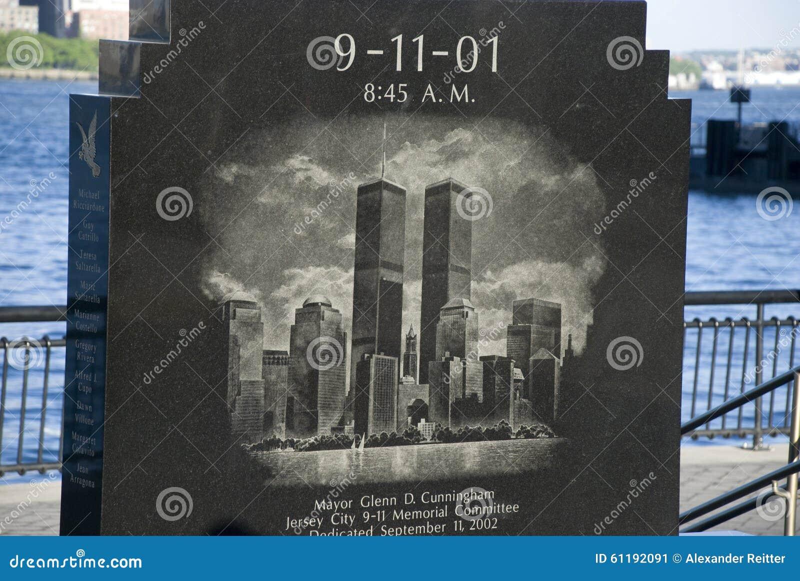 11 septembre monument, New York City