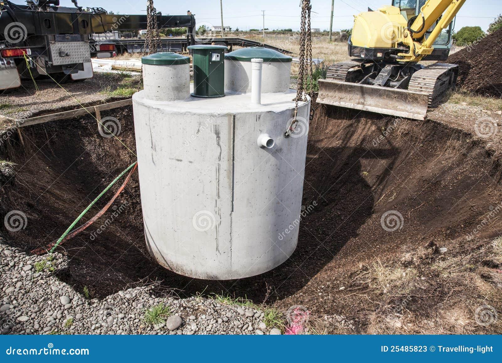 Septic Tank Installation Stock Photos Image 25485823