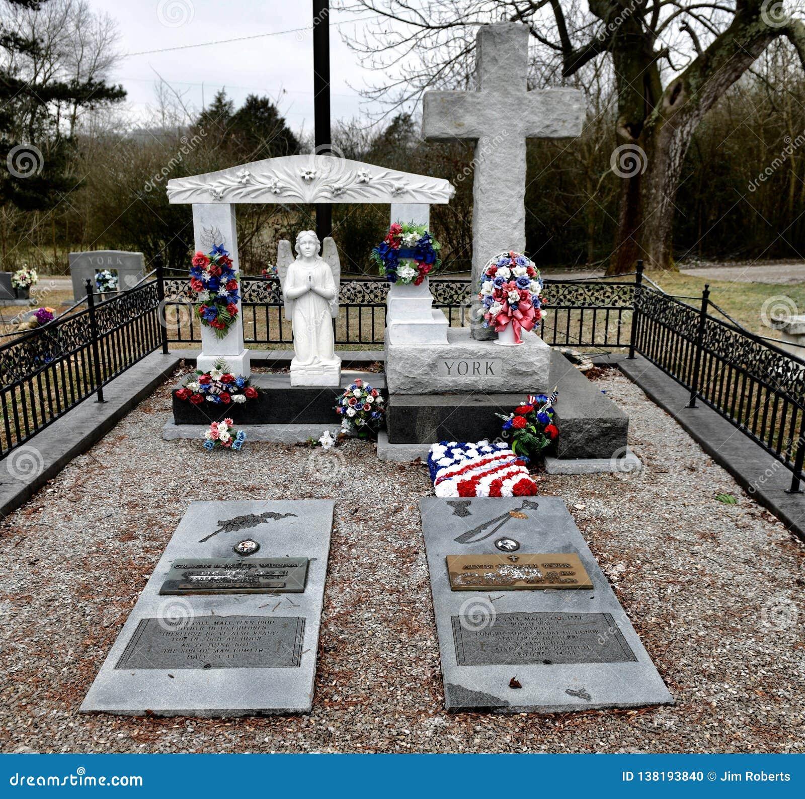 Sepulcro y monumento de Sargent Alvin C york