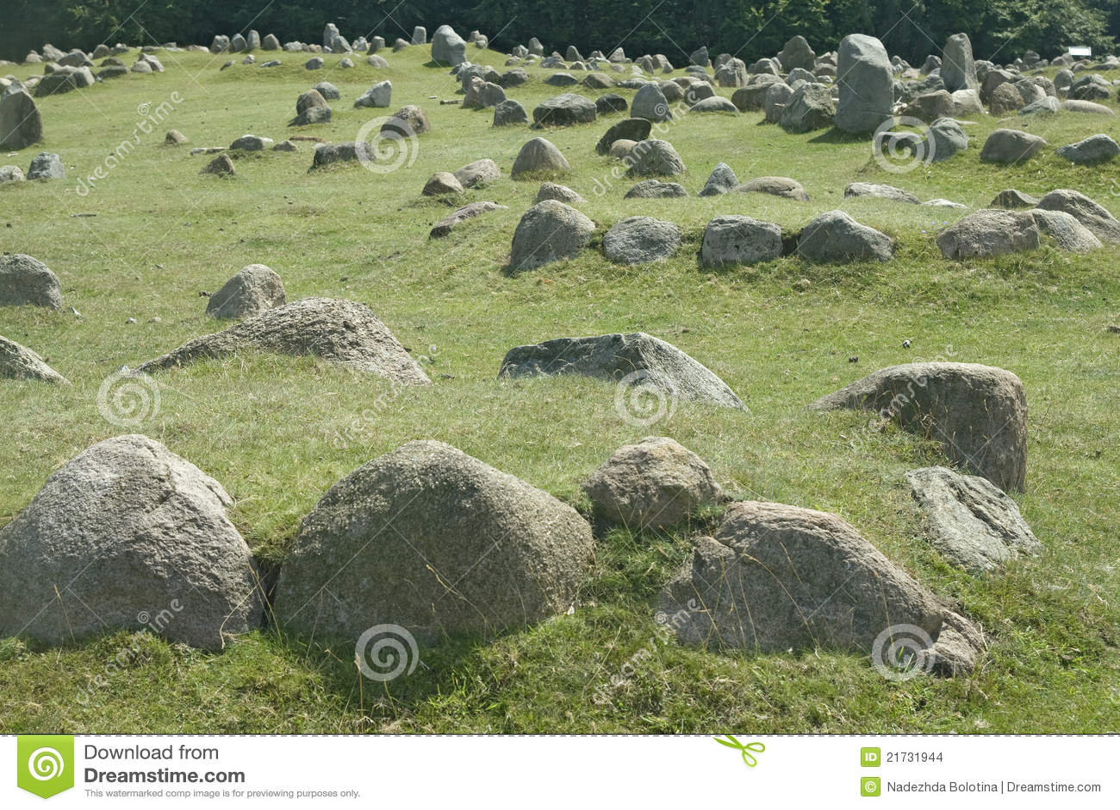 Sepulcros de piedra de vikingo