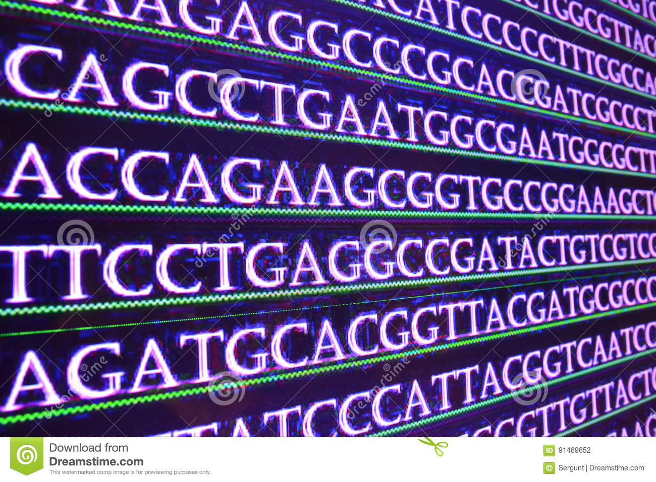 Sequence DNA.