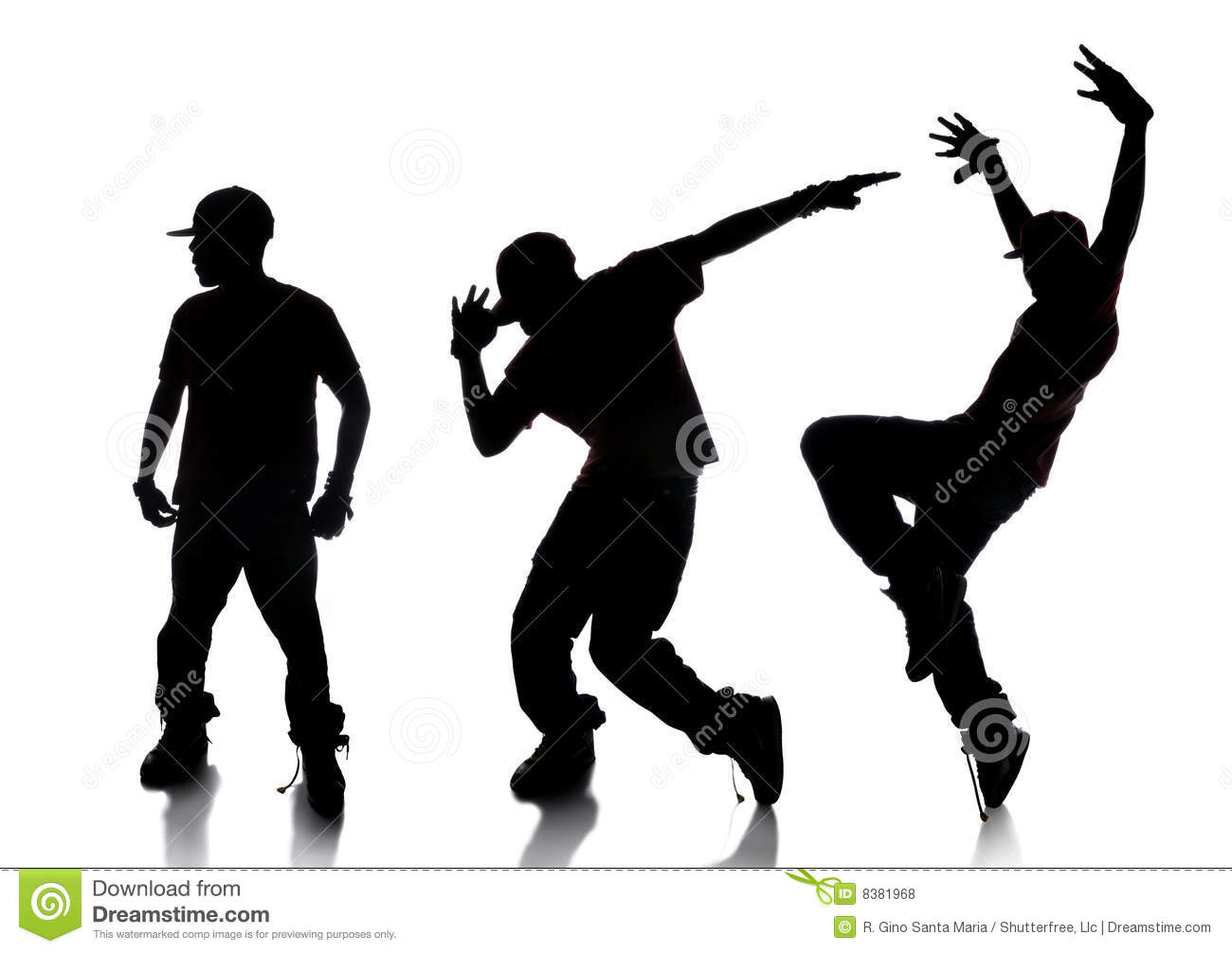 Sequence Of Hip Hop Dancer Royalty Free Stock Photos - Image: 8381968