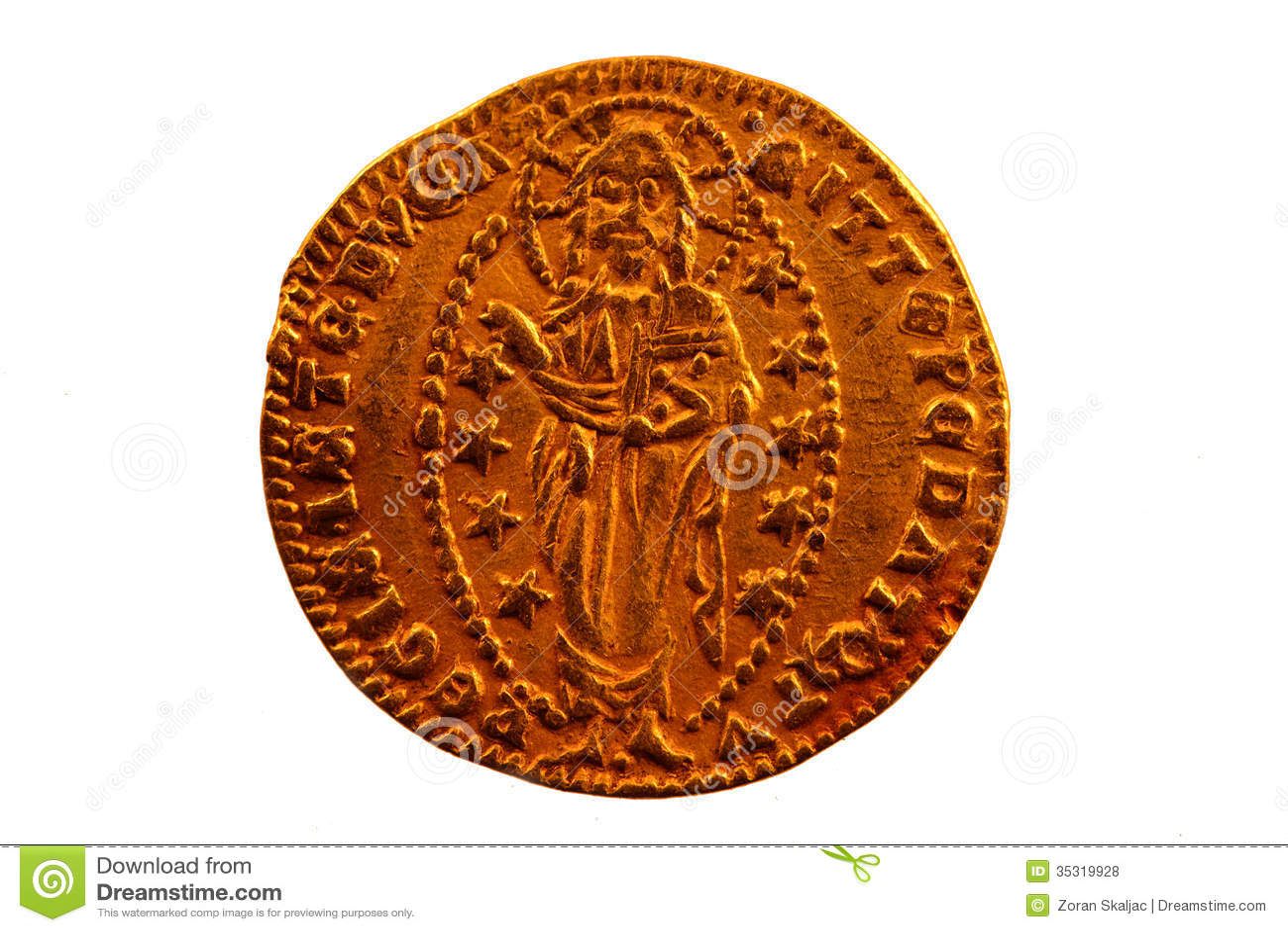 Sequin - Zecchino - A Gold coin of Venice