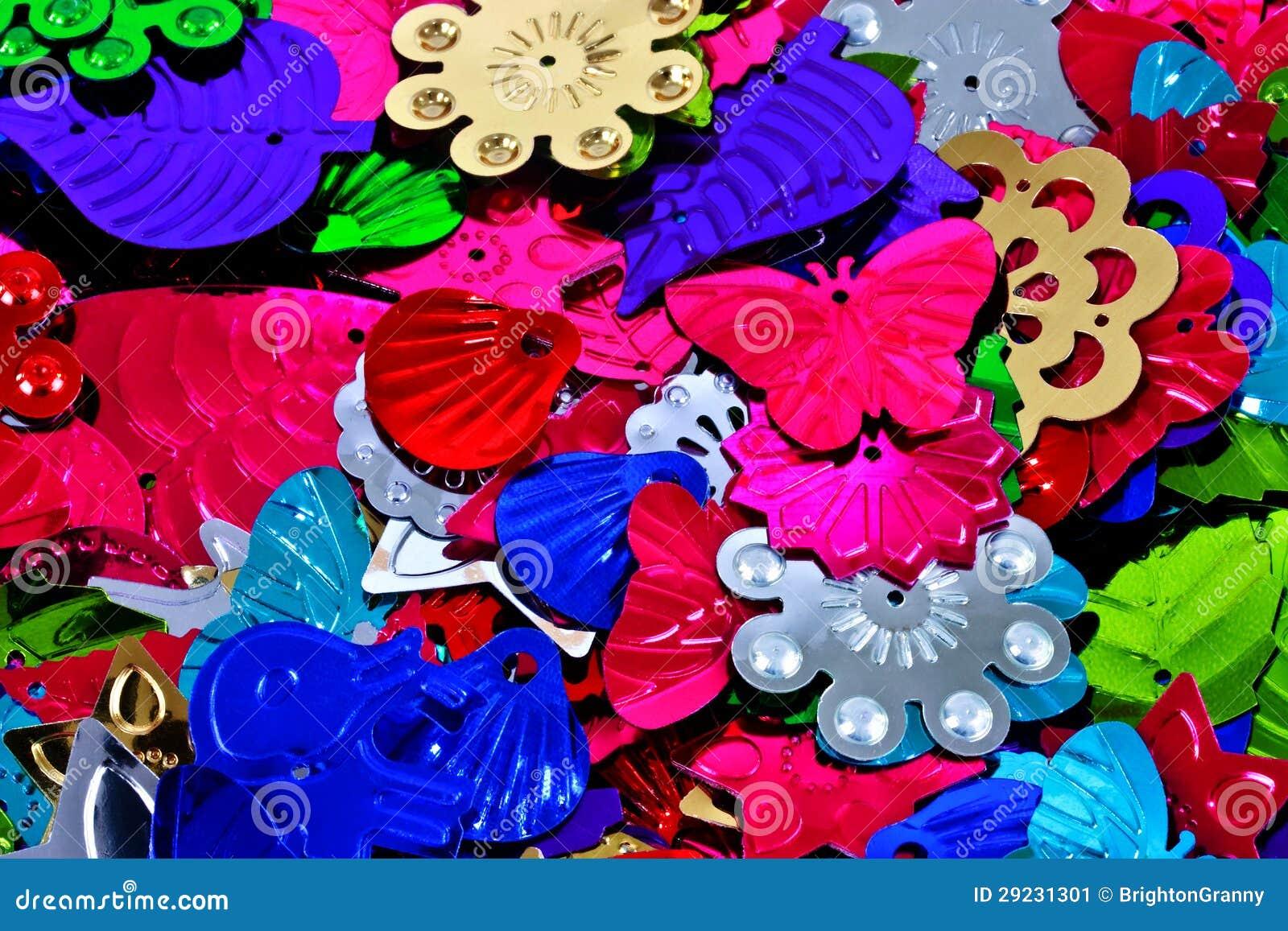 Download Sequins coloridos imagem de stock. Imagem de forma, multi - 29231301