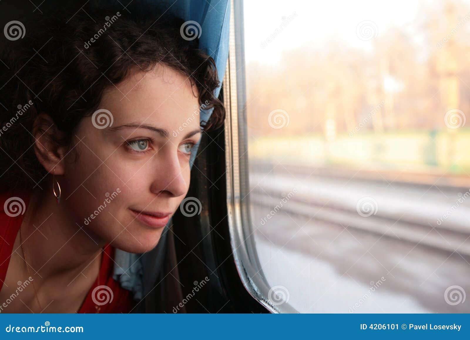 Ser barn för kvinna för s-drevfönster