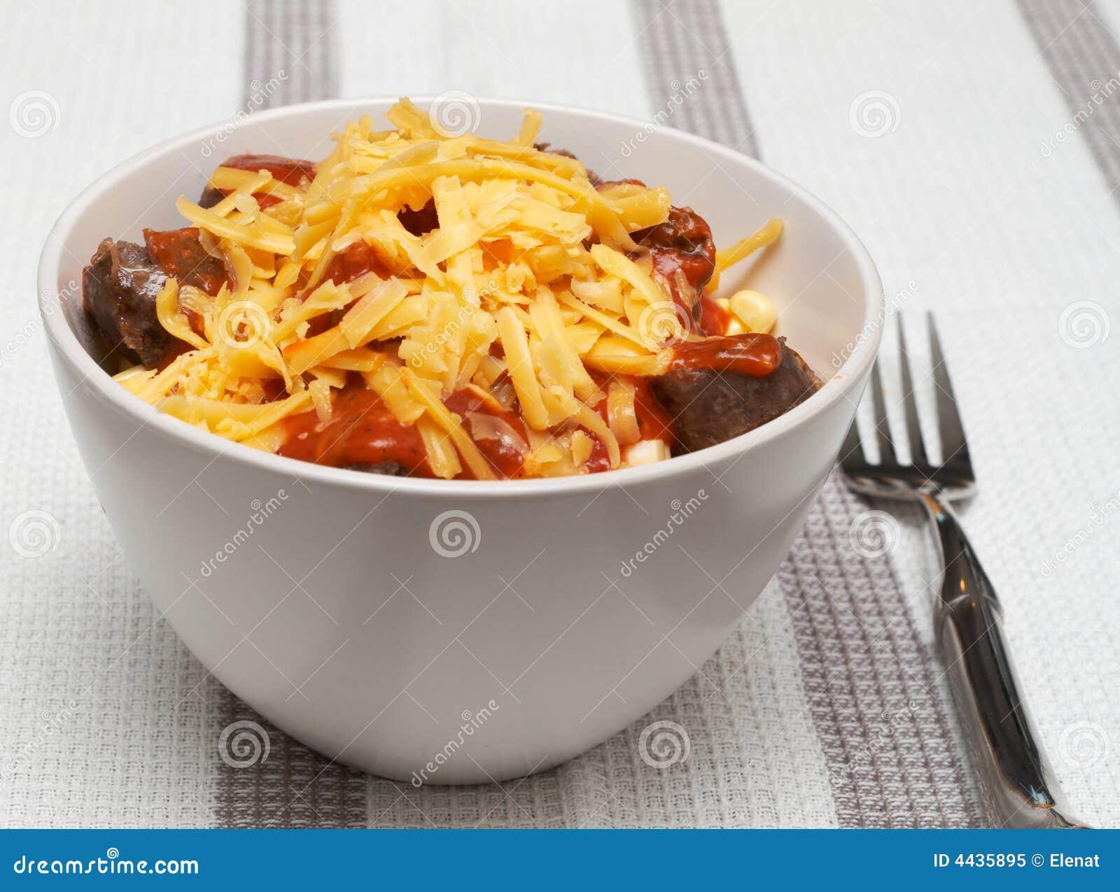 Ser więcej makaronu sosu pomidora