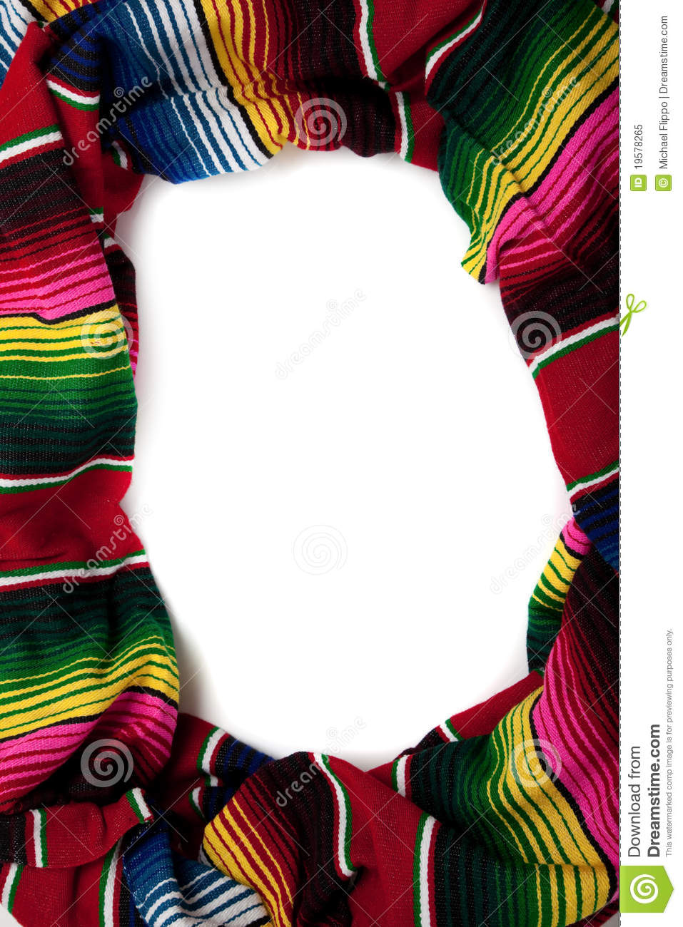 Serape As A Border With Copy Space Stock Image Image Of Indigenous