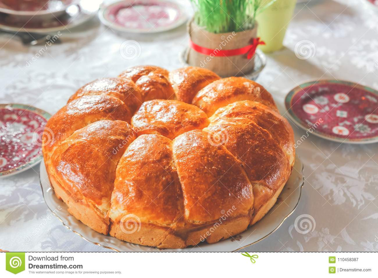 serbian christmas bread and christmas wheat - When Is Serbian Christmas