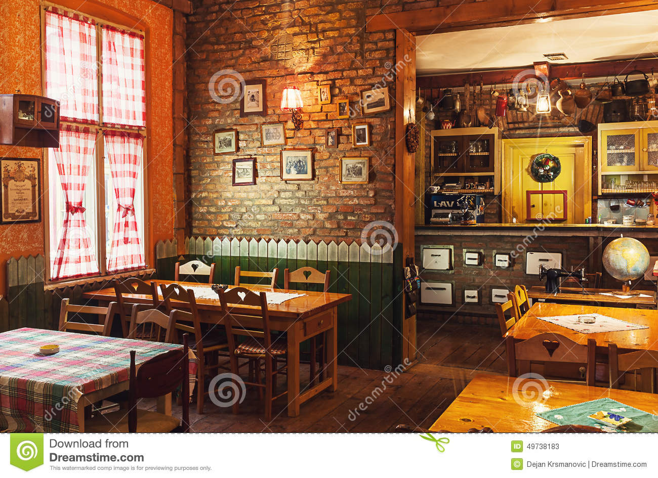 Serbian Restaurant Editorial Stock Photo Image Of