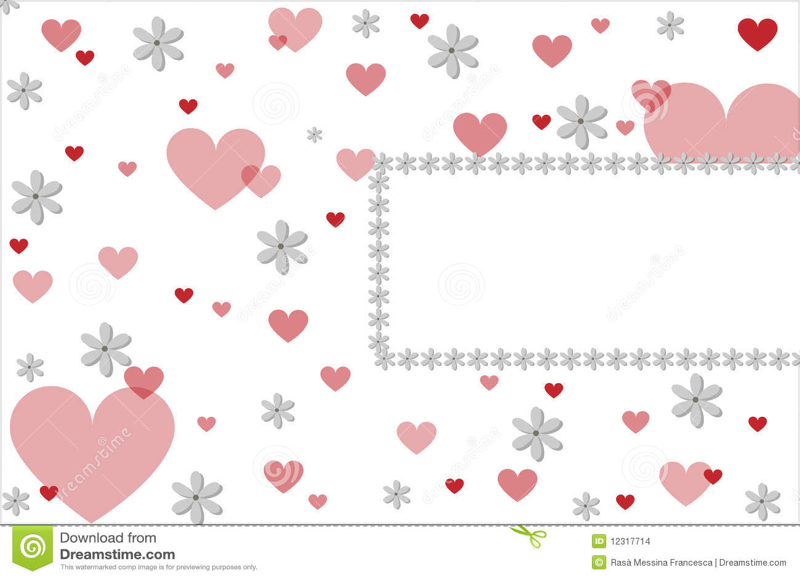 Serca karciany valentine