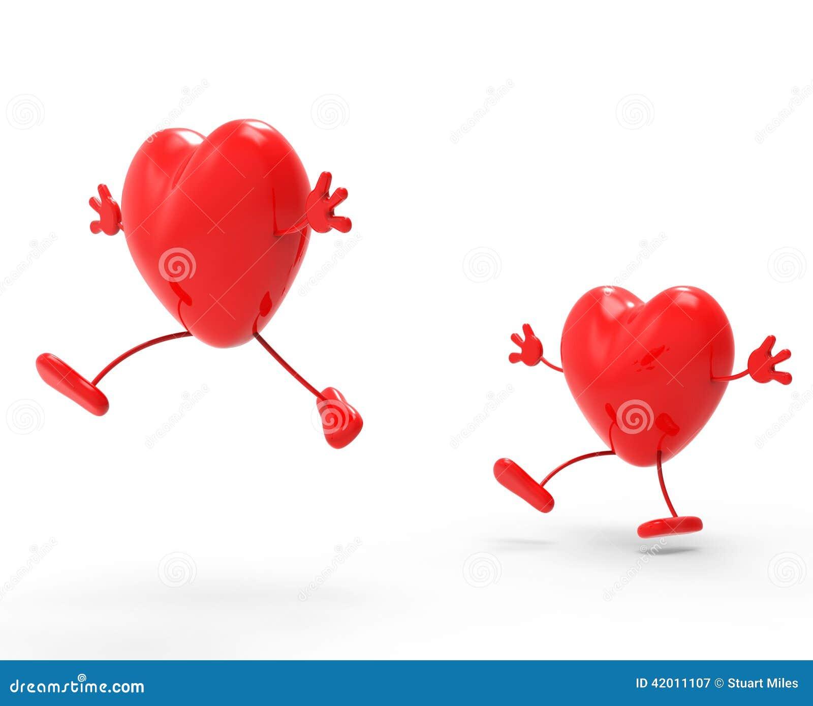 Serca Kochają Reprezentują walentynki datowanie I dzień
