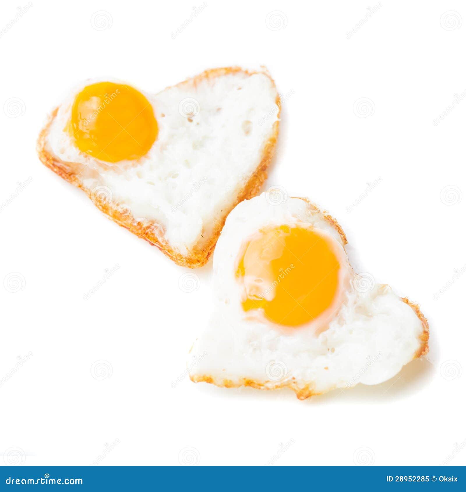 Serca smażący jajka
