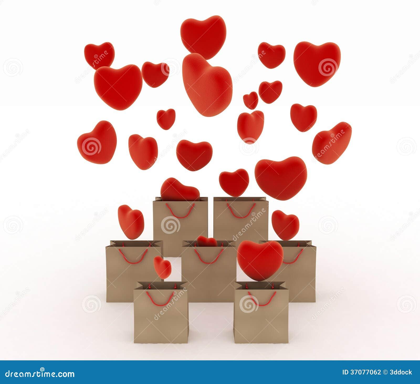 Download Serca Spada W Prezent Zdosą Ilustracji - Ilustracja złożonej z heart, ukochany: 37077062