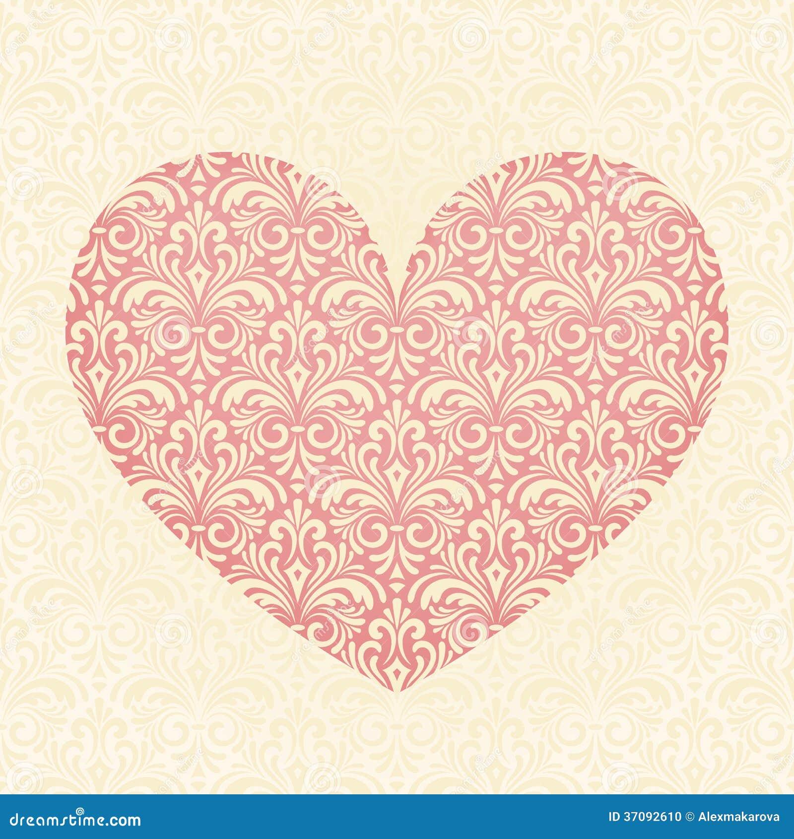 Download Serce ilustracja wektor. Ilustracja złożonej z foremność - 37092610