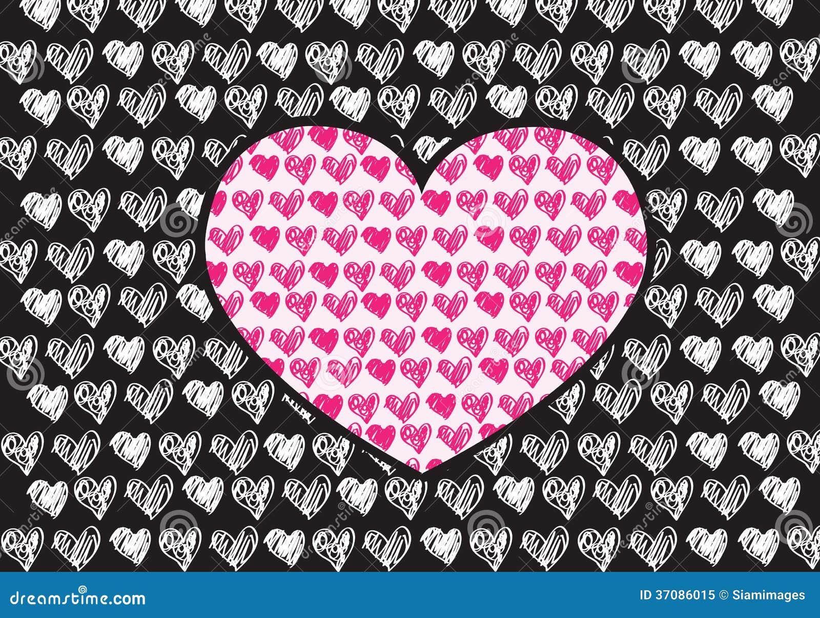 Download Serce dla walentynka dnia ilustracji. Ilustracja złożonej z elegancki - 37086015