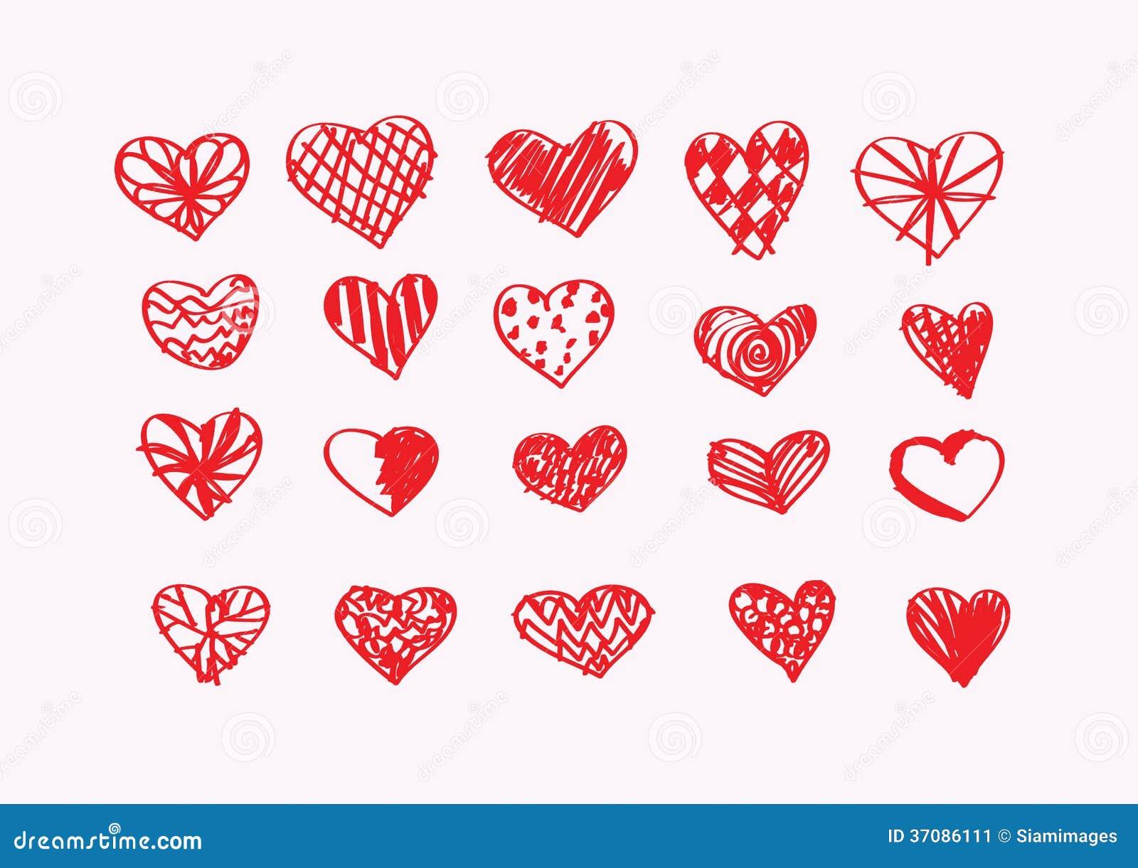 Download Serce dla walentynka dnia ilustracji. Ilustracja złożonej z dekoracje - 37086111