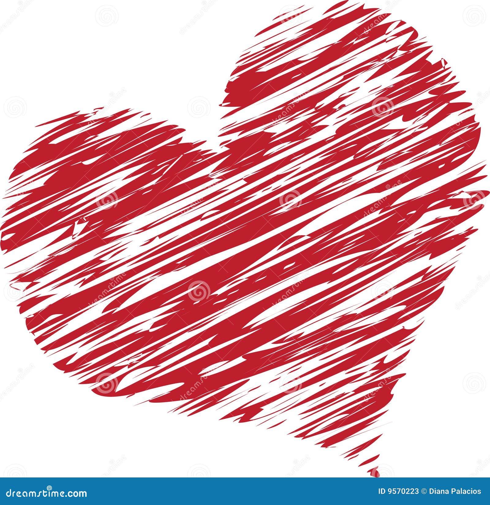Serce gryzmolił