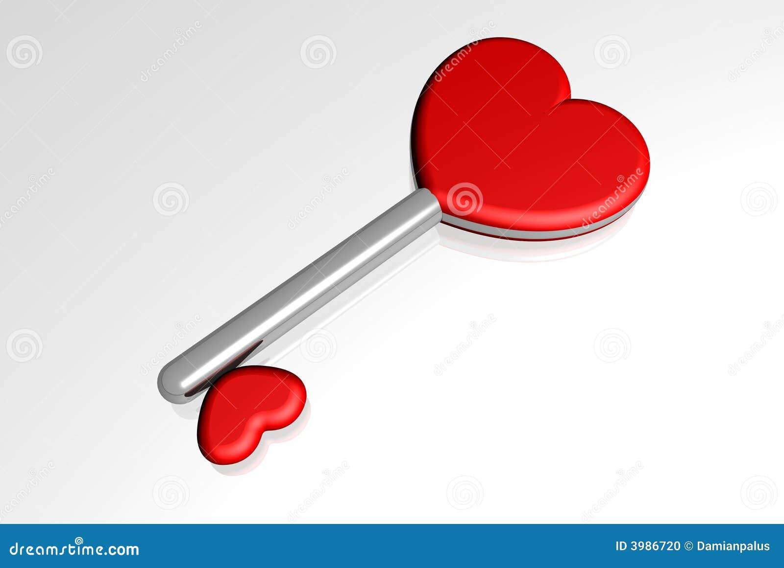 Serce klucza miłości