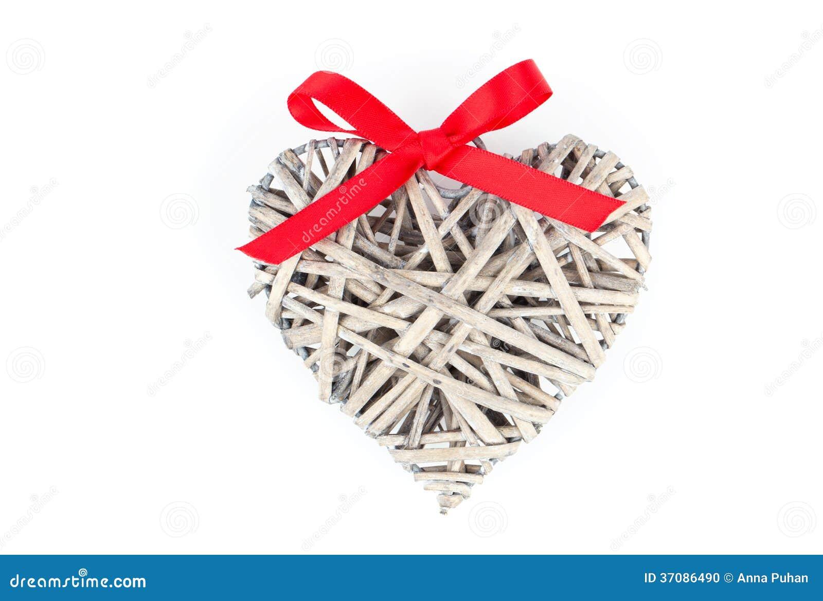 Download Serce Kształtująca Dekoracja Robić Drewno Zdjęcie Stock - Obraz złożonej z wakacje, dynda: 37086490