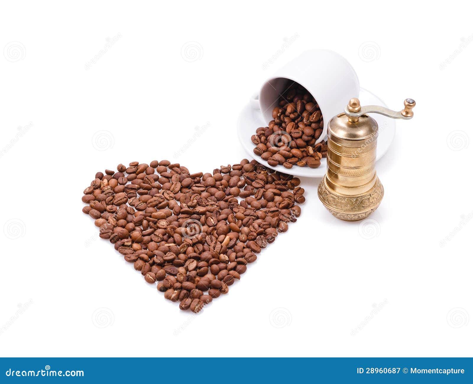 Serce robić kawowe fasole