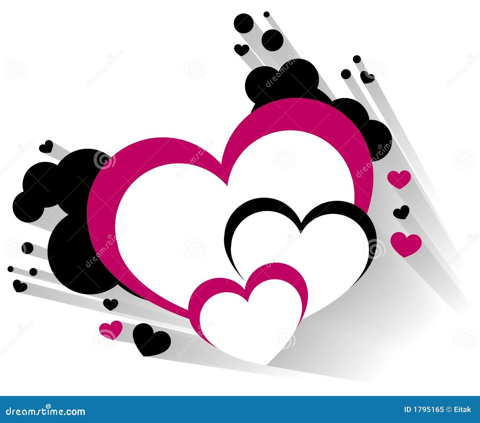 Serce wymiarowej 3