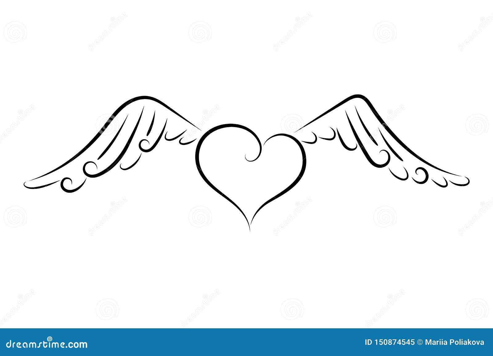 Serce z skrzyd?ami