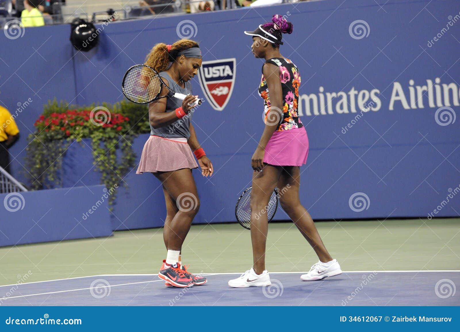 Serena USA 2013 & Venus Williams
