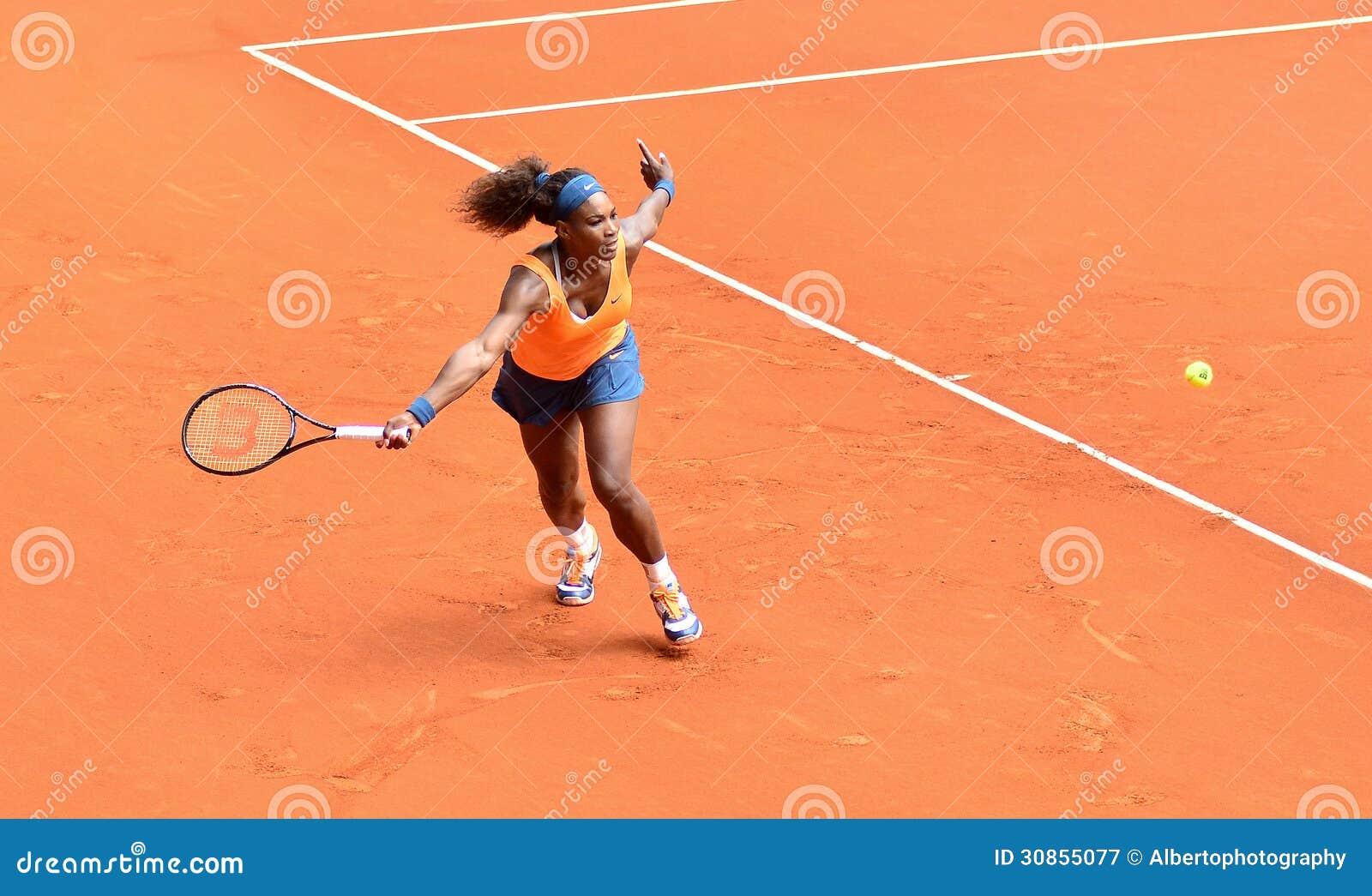 Serena Williams przy WTA Mutua Otwarty Madryt