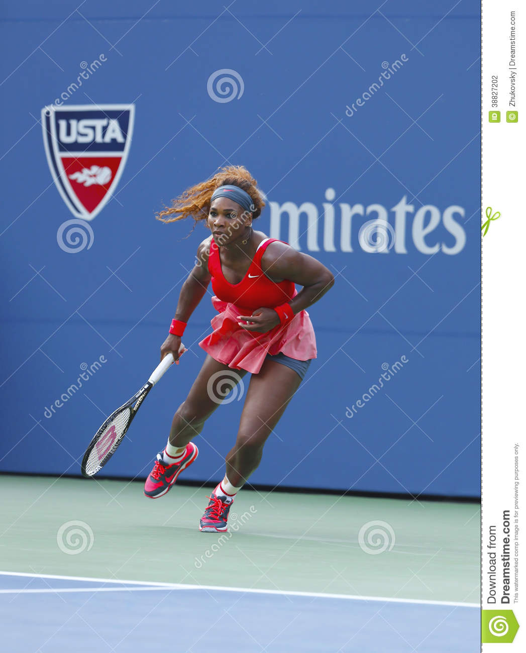 Serena Williams an US Open 2013