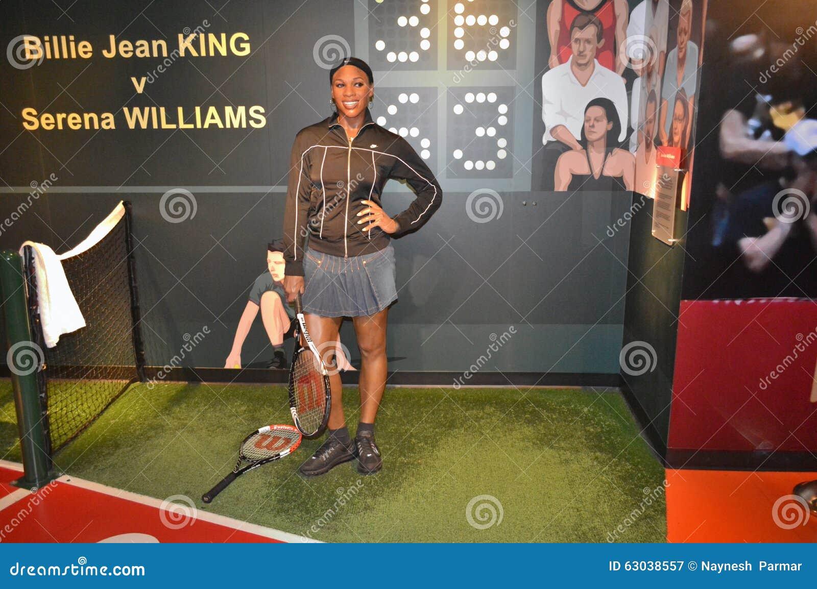 Serena Williams wosku statua