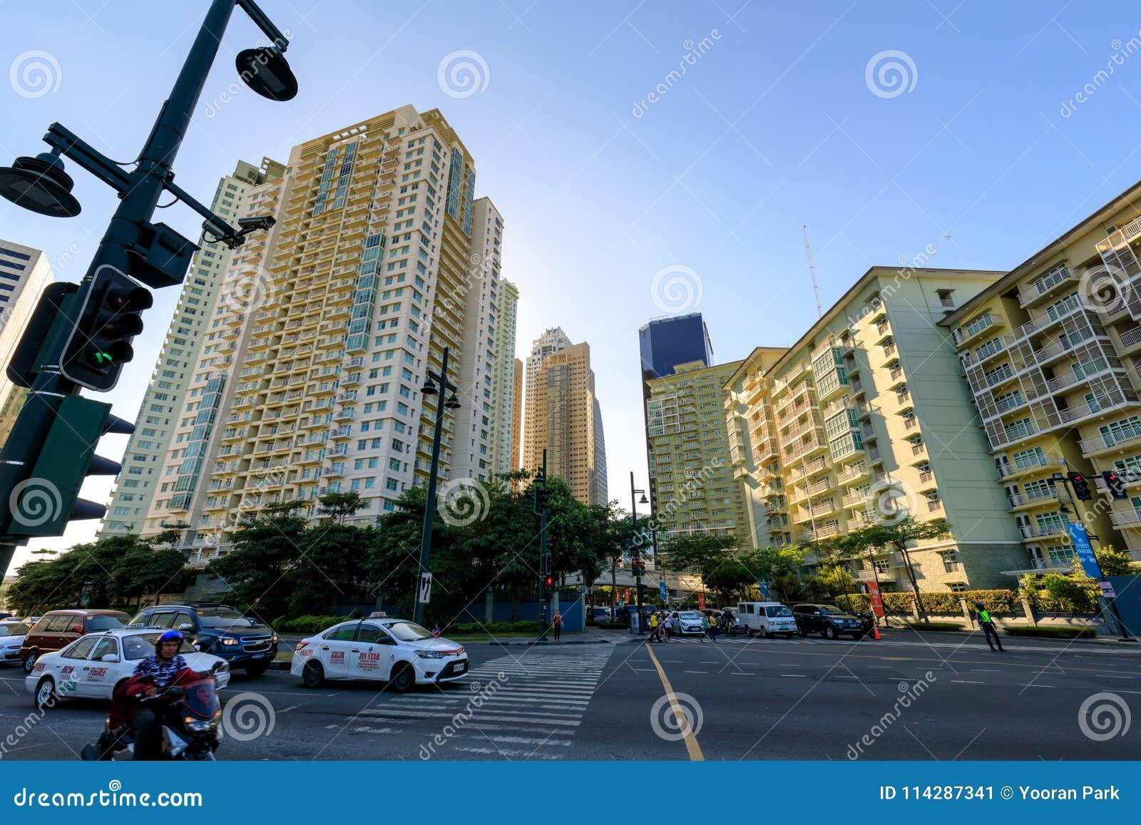 Serendra Residential Facade In Bonifacio Global City, Taguig