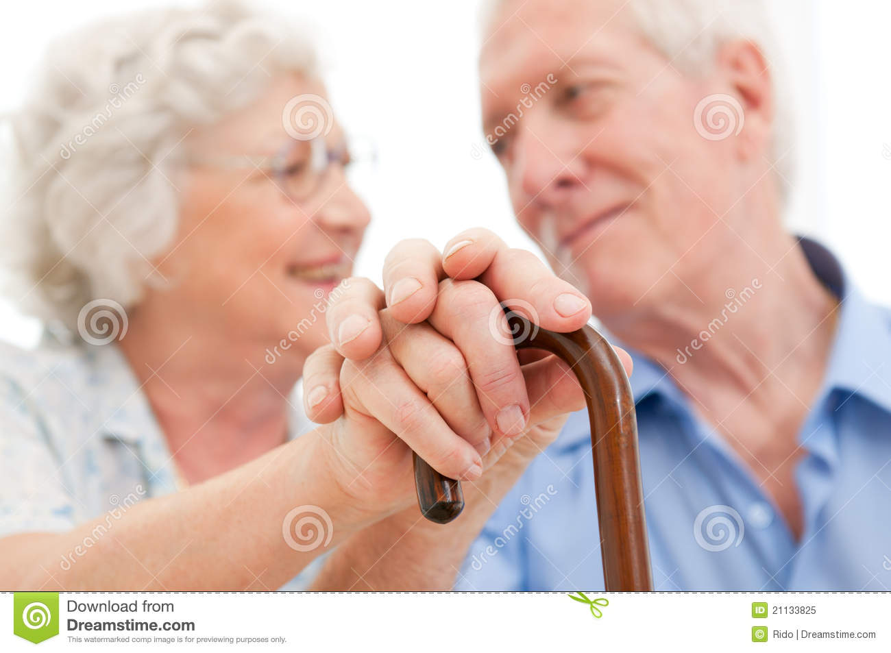 Serene Senior Couple Royalty Free Stock Photo - Image ...