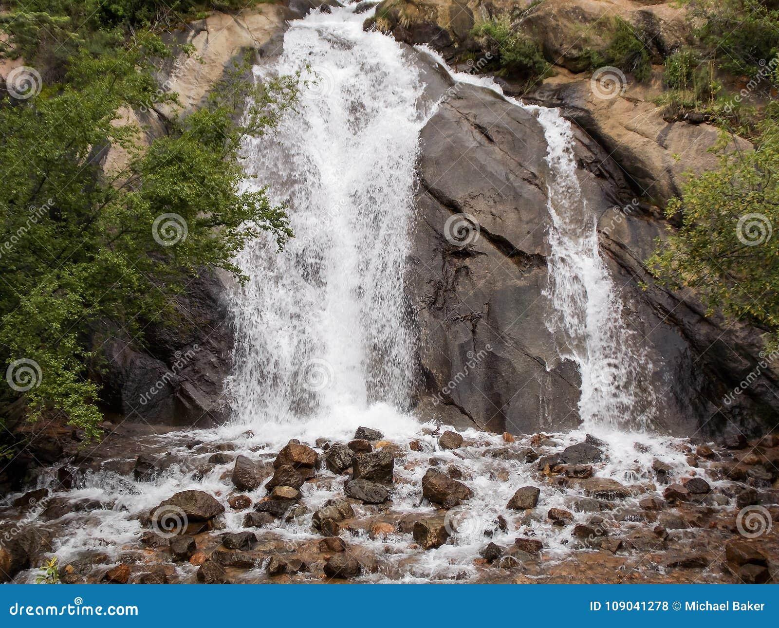 Serene Sound of the Waterfall Helen Hunt Falls
