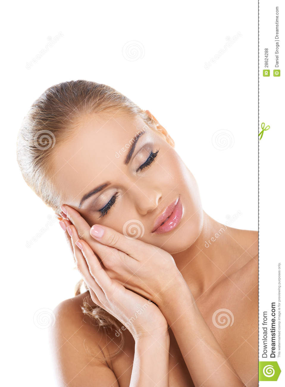 Serene Woman Sleeping Royalty Free Stock Photos - Image ...