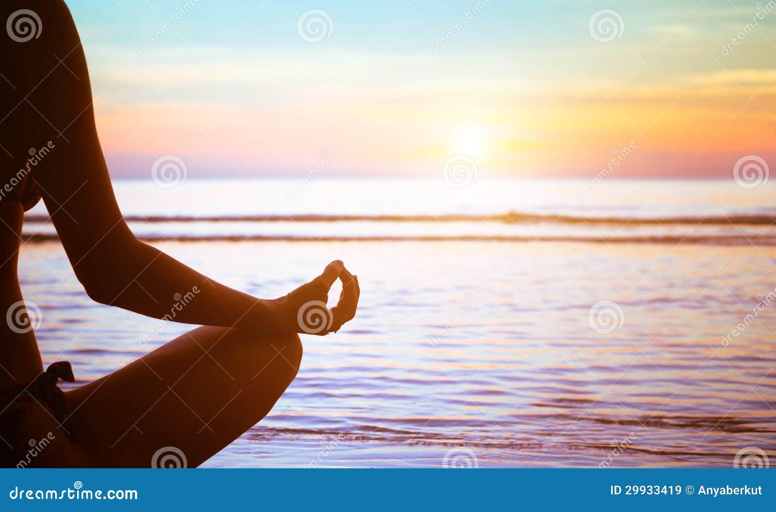 Estratto di esercizio di yoga