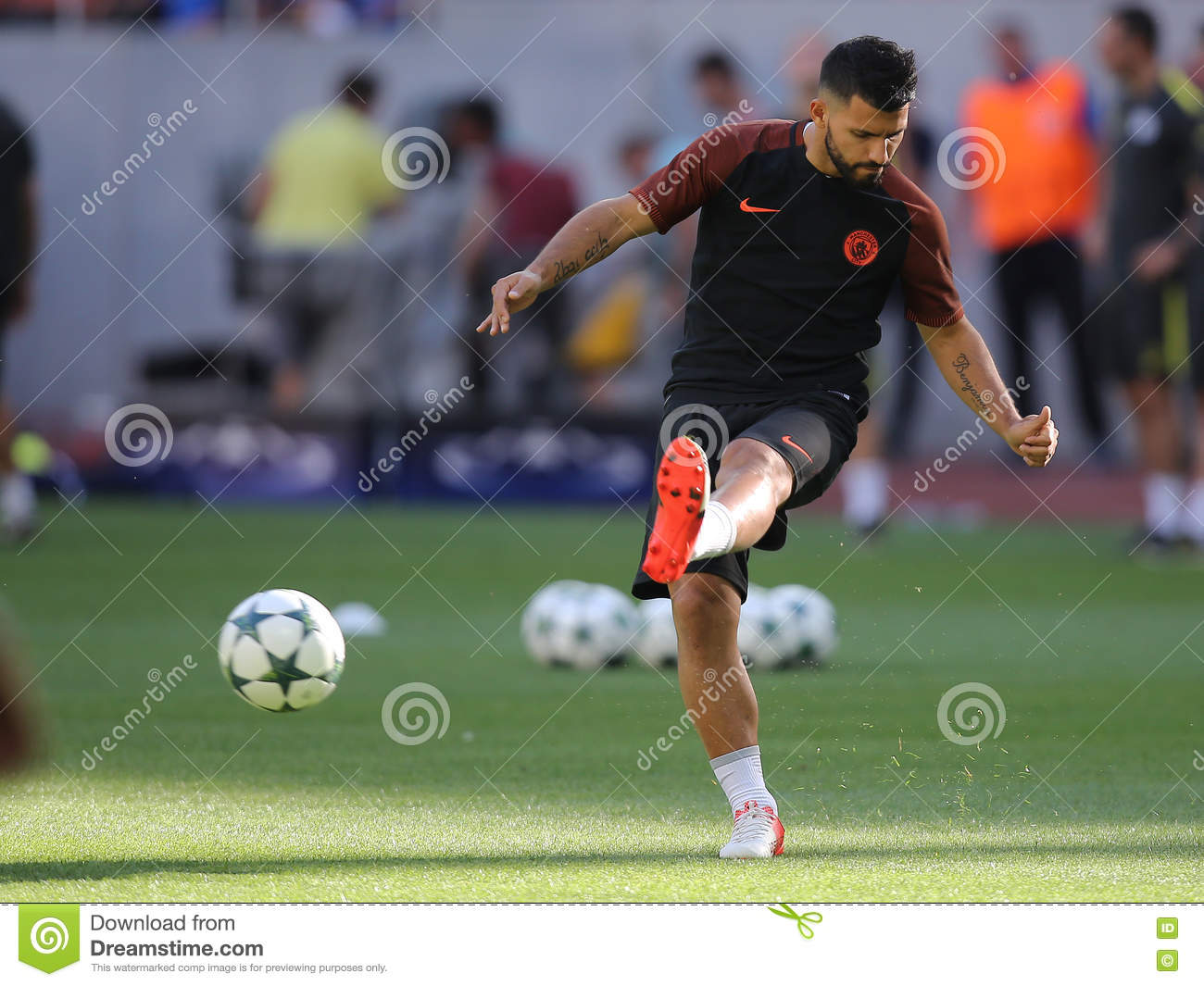 Sergio Aguero Editorial Stock Image. Image Of Expressions
