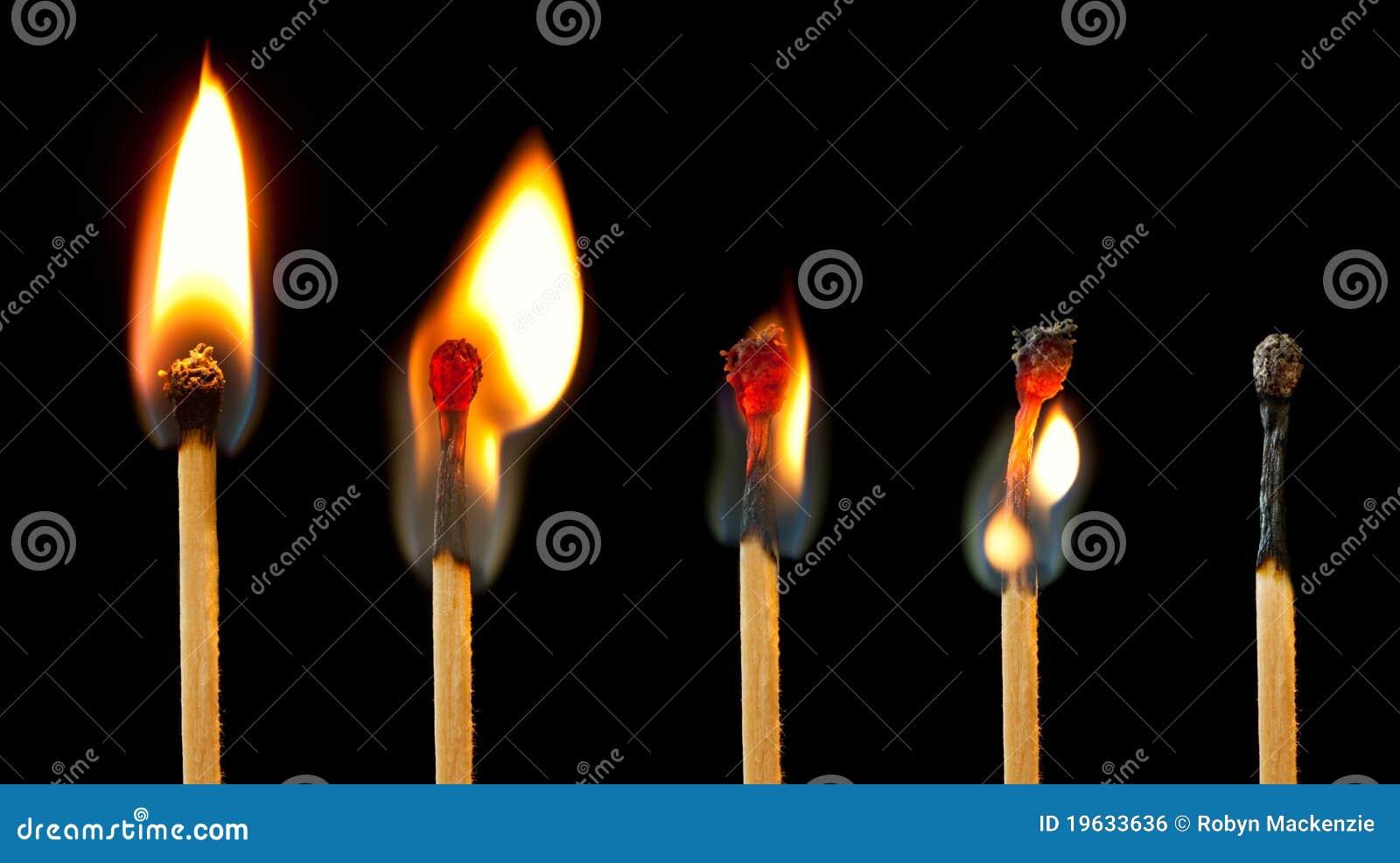 Serie Burning della corrispondenza