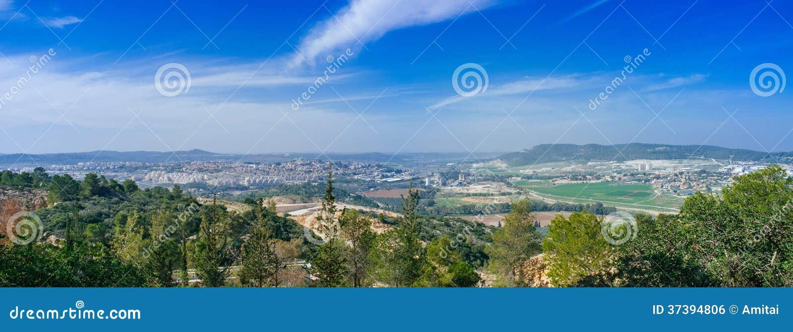Serie de Holyland - panorama de las montañas de Judea