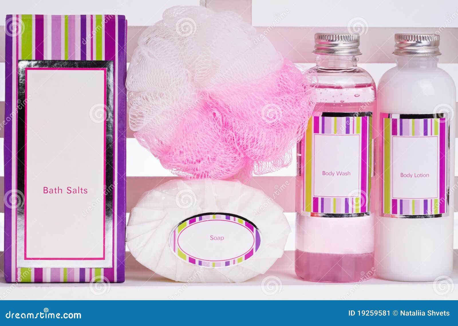 Serie de los cosméticos del BALNEARIO