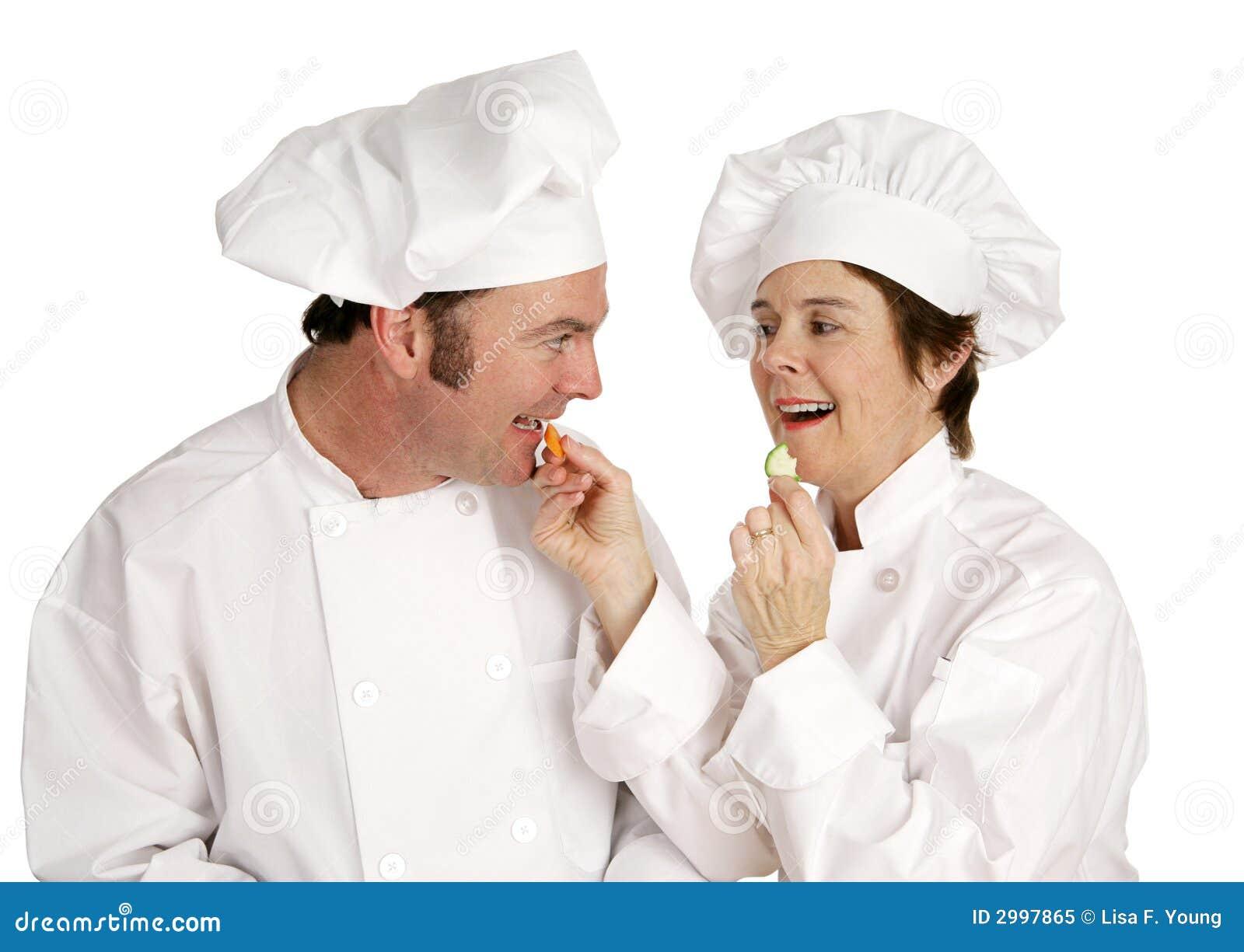 Serie del cocinero - consumición sana