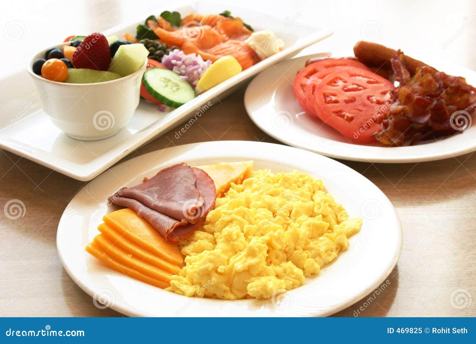 Serie del desayuno - desayuno de la proteína