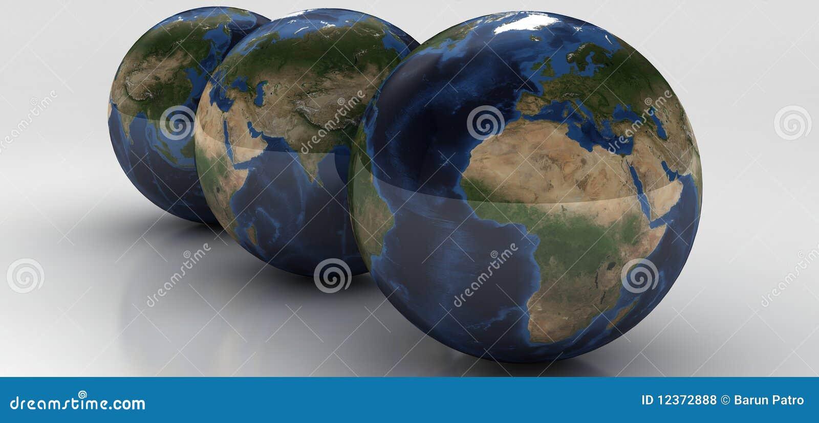 Serie del globo