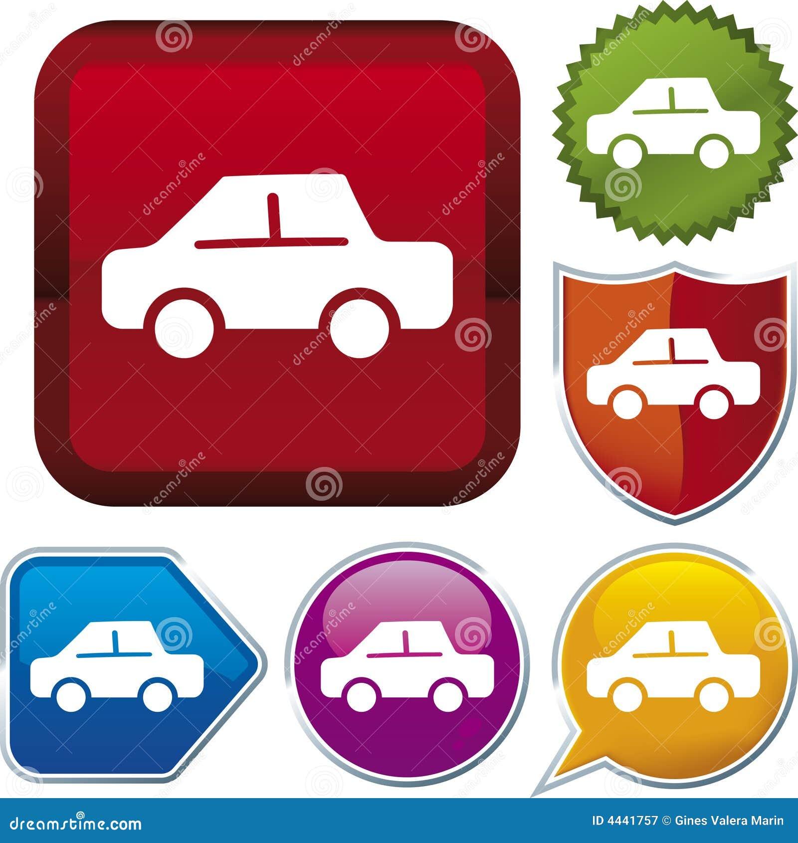 Serie del icono: coche