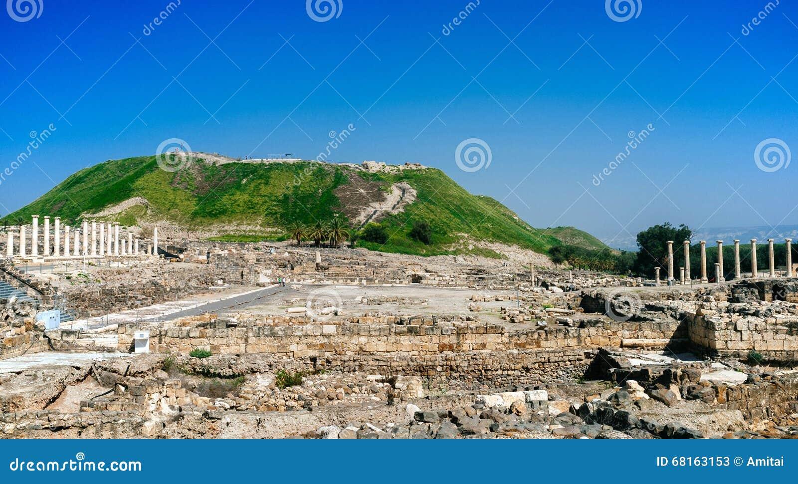 Serie della Terra Santa - Beit Shean ruins#4
