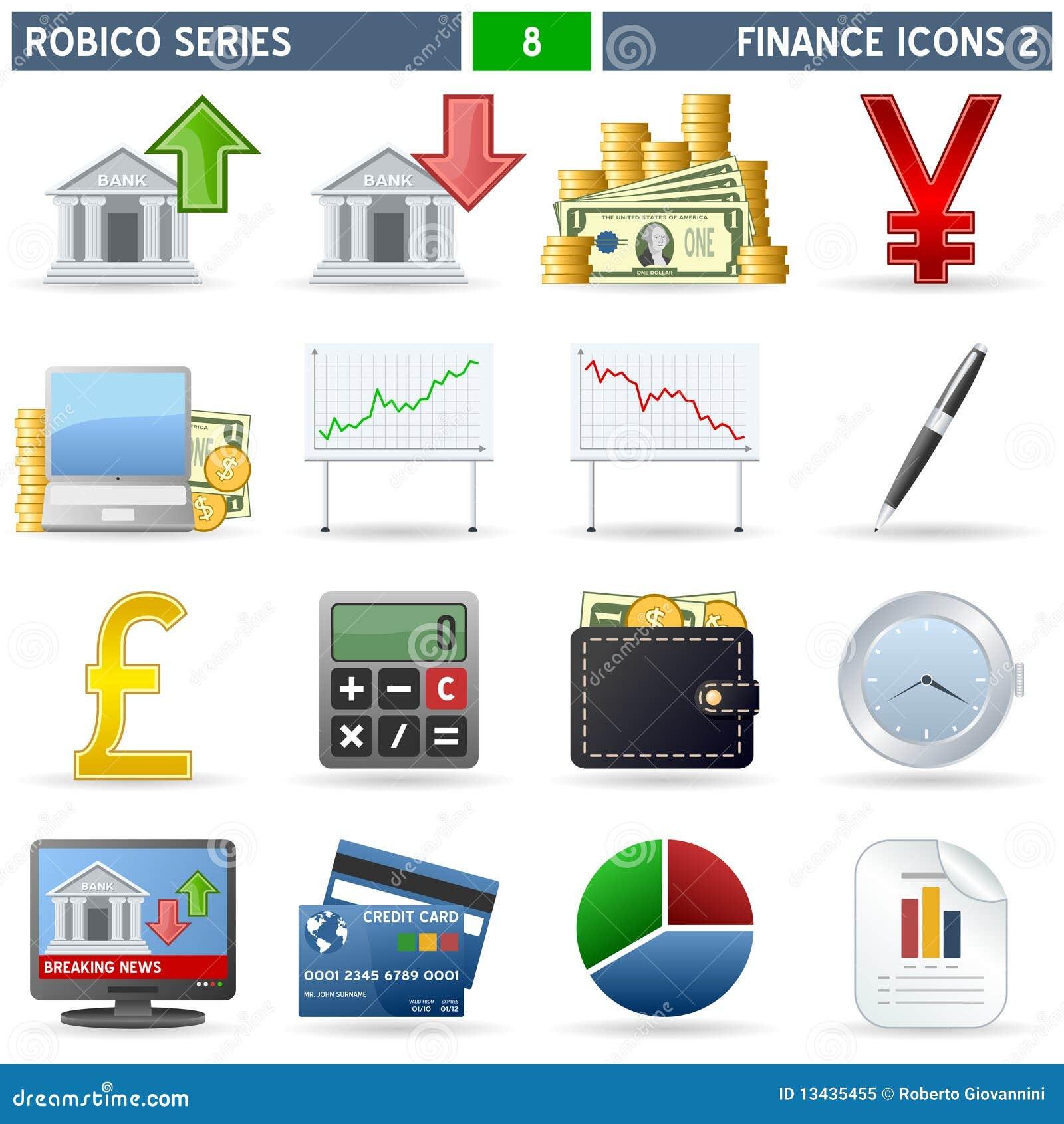 Serie di Robico delle icone di finanze [2] -