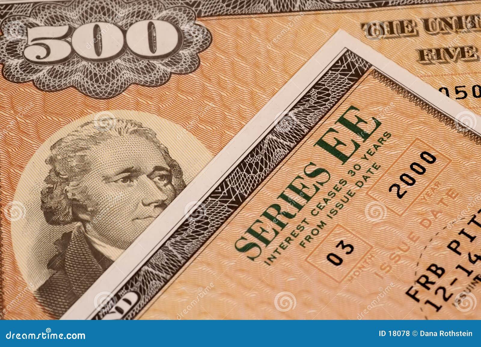 Serie för bondsee-sparande