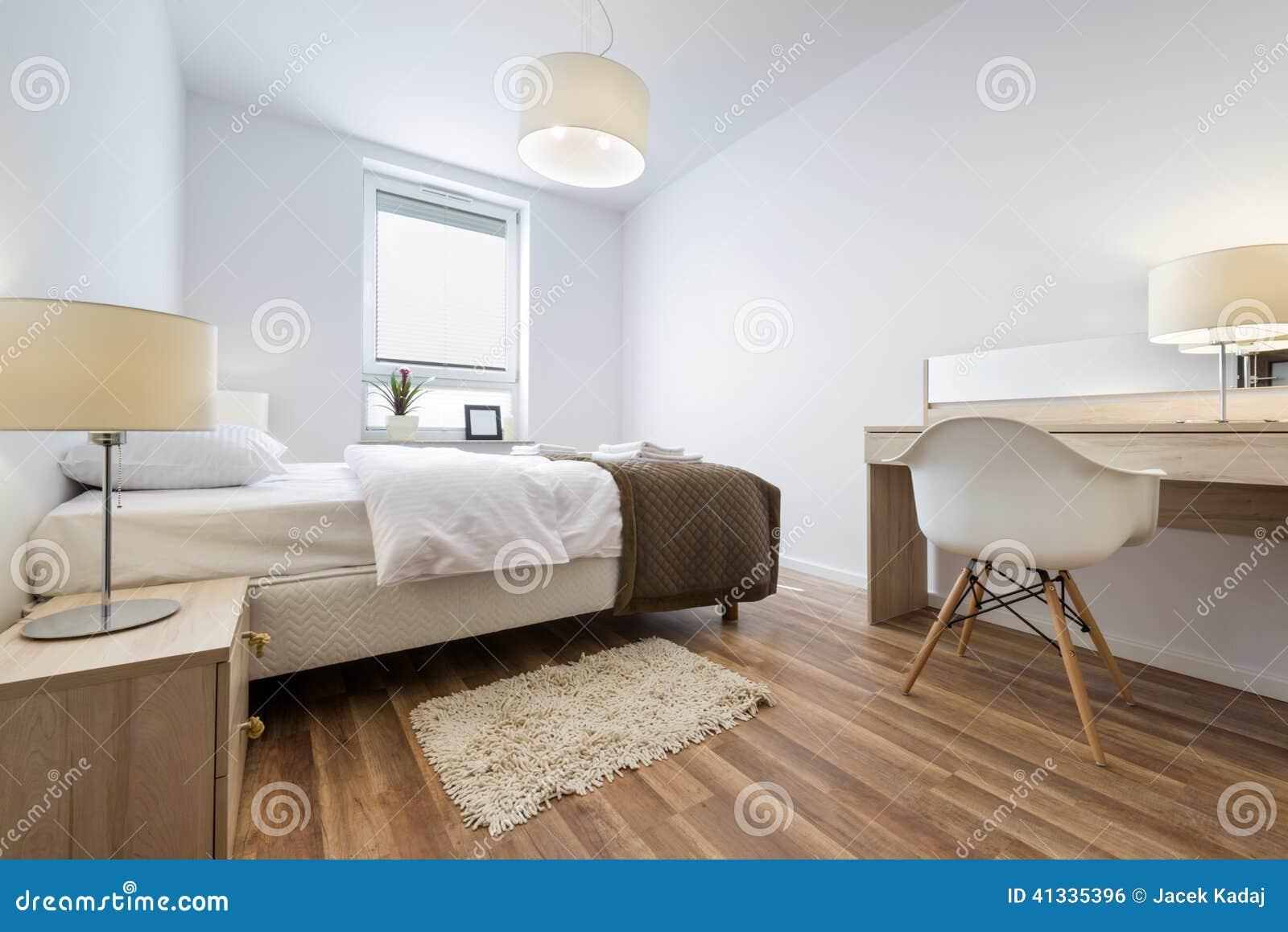 Serie För Inredesign: Modernt Sovrum Arkivfoto - Bild: 41335396